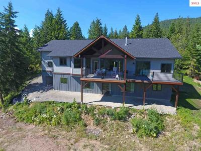 Boundary County Single Family Home For Sale: 659 Pintail