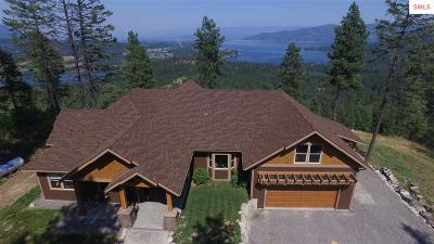 Sagle Single Family Home For Sale: 729 Delaney Dr.