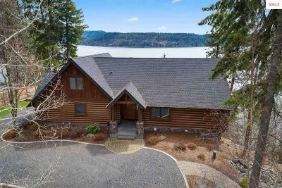 Coeur D'alene Single Family Home For Sale: 6868 W Rockford Bay Road