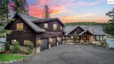Coeur D'alene Single Family Home For Sale: 18206 S Woodland Shores Dr