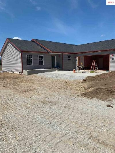 Bonner County Single Family Home Contingent W/Bump Clause: 350 Solar Rd
