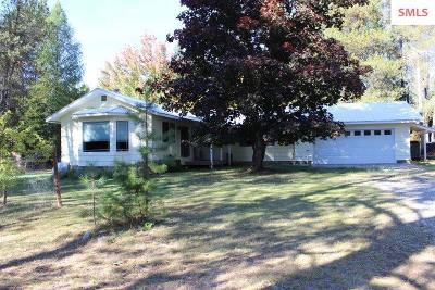 Sandpoint Single Family Home For Sale: 135 Hopkins Rd