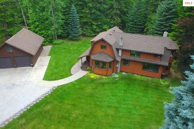 Sandpoint Single Family Home For Sale: 1478 Upper Pack River Rd.