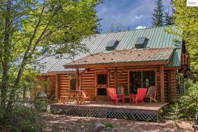 Sagle Single Family Home For Sale: 70 Hawkins Road