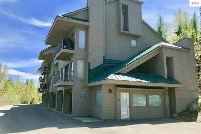 Mountainside, Schweitzer Condo/Townhouse For Sale: 88 Blooming Flower Court #105