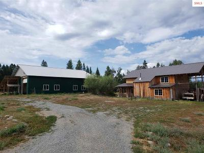 Bonners Ferry Single Family Home Contingent W/Bump Clause: 194 Keiki Lane