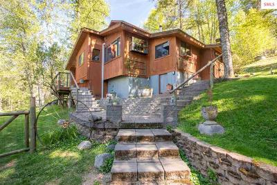 Sagle Single Family Home Contingent W/Bump Clause: 670 Upper Rocky Rd