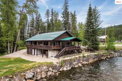 Sandpoint Single Family Home For Sale: 4829 Upper Pack River Rd.