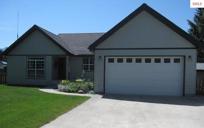 Bonners Ferry ID Single Family Home For Sale: $309,000