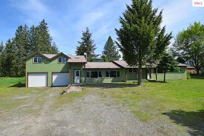 Moyie Springs Single Family Home For Sale: 1749 Roosevelt Rd