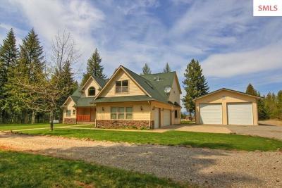 Bonner County, Boundary County, Kootenai County Single Family Home For Sale: 11543 E Nunn Rd