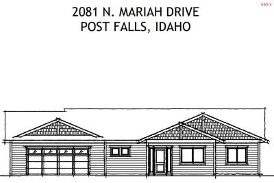 Post Falls Single Family Home For Sale: 2081 N Mariah Ct