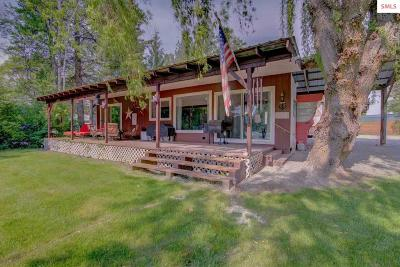Priest River Single Family Home For Sale: 39 Half Circle Dr