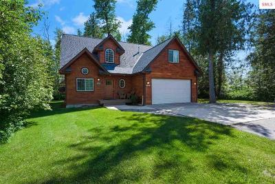 Bonner County Single Family Home For Sale: 100 Dustarr Lane