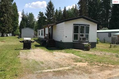 Sagle Single Family Home For Sale: 468810 Highway 95