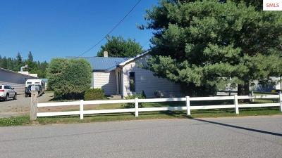Bonners Ferry Single Family Home For Sale: 6633 Fry St.