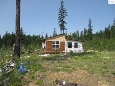 Priest River Single Family Home For Sale: 3612 Gleason Mc Abee Rd.