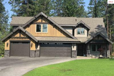 Coeur D'alene Single Family Home For Sale: 15353 S Chalone Dr