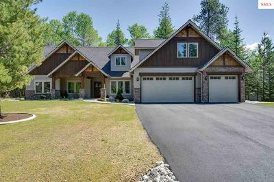 Coeur D'alene Single Family Home For Sale: 15321 S Chalone Dr