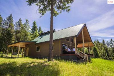 Bonners Ferry Single Family Home For Sale: 1077 Cricket Crossing