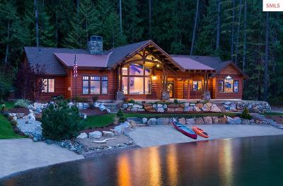 Sandpoint ID Single Family Home For Sale: $1,897,000