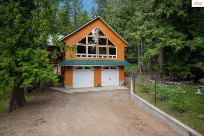 Bonner County, Boundary County, Kootenai County Single Family Home For Sale: 125 Circle Drive