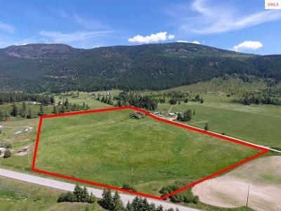 Bonners Ferry Residential Lots & Land For Sale: Nna Huff Rd