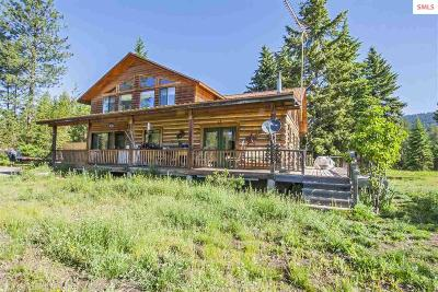 Bonners Ferry Single Family Home For Sale: 171 Star