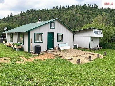 Priest River Single Family Home For Sale: 1791 Pup Paw Trail