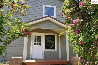 Clark Fork ID Single Family Home For Sale: $209,700