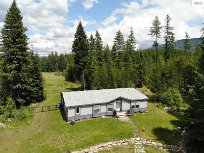 Priest River Single Family Home For Sale: 2519 Eastside Rd