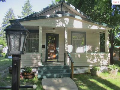 Sandpoint Single Family Home For Sale: 717 N Sixth Ave