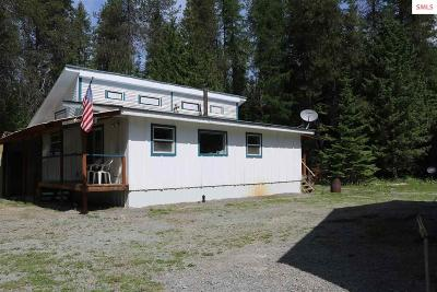 Bonner County, Boundary County, Kootenai County Single Family Home For Sale: 3951 Gleason McAbee Falls Road
