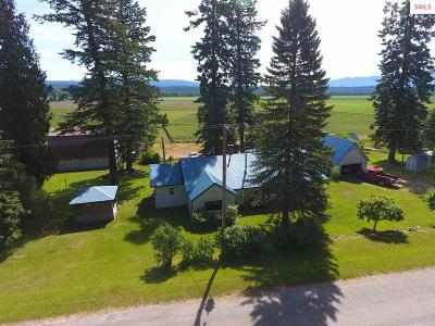 Bonners Ferry Single Family Home For Sale: 5261 Westside Rd