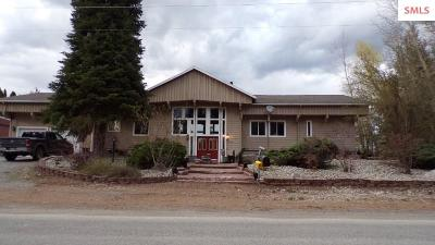 Bonners Ferry Single Family Home For Sale: 7724 Deep Creek Loop