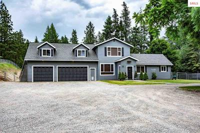 Bonner County, Boundary County, Kootenai County Single Family Home For Sale: 20 Smith Lake Rd.