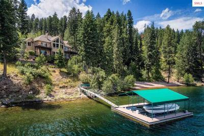 Coeur D'alene Single Family Home For Sale: 4250 S Threemile Point Rd