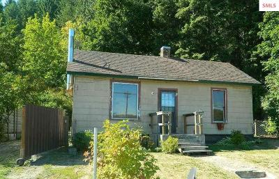 Bonners Ferry ID Single Family Home For Sale: $74,900