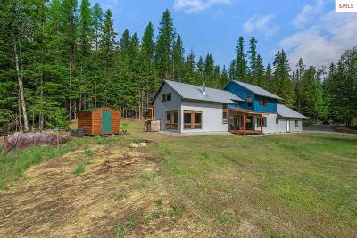 Sandpoint Single Family Home For Sale: 108 Willies Way