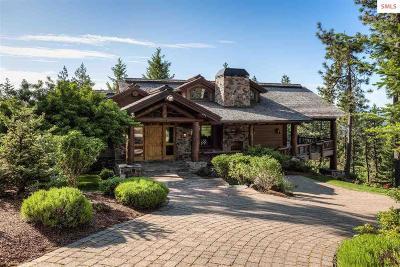 Bonner County, Kootenai County Single Family Home For Sale: 17924 S Basalt Dr