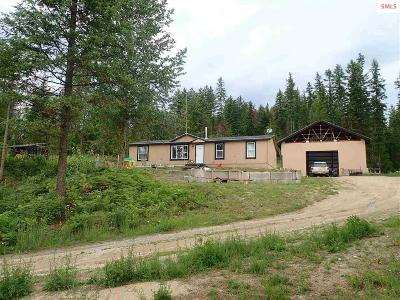 Priest Lake, Priest River Single Family Home For Sale: 3971 Gleason McAbee Rd.