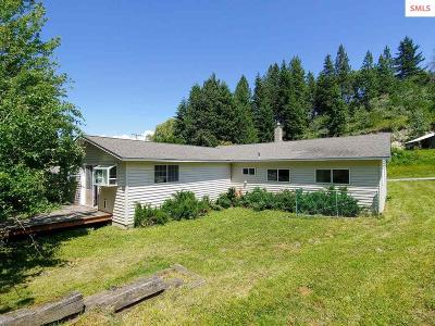 Bonners Ferry Single Family Home For Sale: 6868 Hazel St.