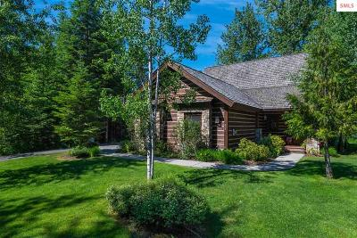 Sandpoint Single Family Home For Sale: 52 Waterdance Way