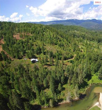 Sandpoint Residential Lots & Land For Sale: 3050 N Center Valley (37.84 Acres)