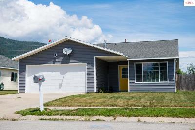 Sandpoint Single Family Home For Sale: 1602 Hemlock Ct.