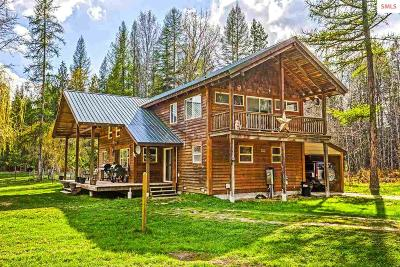 Boundary County Single Family Home For Sale: 200 Mica Road