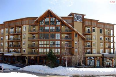 Sandpoint Condo/Townhouse For Sale: 124 Village Lane #402