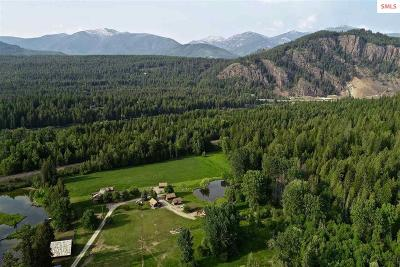 Clark Fork ID Single Family Home For Sale: $1,300,000