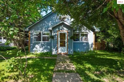 Sandpoint Single Family Home For Sale: 812 N Ella