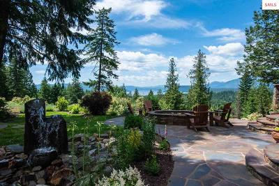 Sandpoint Single Family Home For Sale: 1707 S Idaho Club Drive
